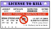 """License To Kill"" Restriction Zombies"