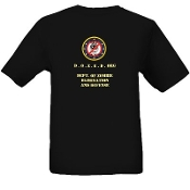 """Zombie Threat Elimination Squad"" Short Sleeve T-Shirt - Black"
